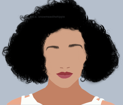 Amandla Stenberg Vector Icon by smoke-weed-thehippie