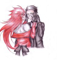 Grell x William by Madandra