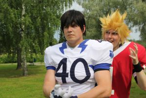AnimeconXI Eyeshield 21 'We are passing trust me' by Tappajapappi
