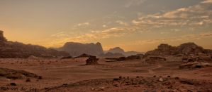 Yellowish desert by forgottenson1