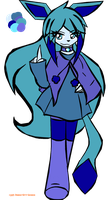 NEW OC: Grace the Glaceon by Orange-Kitty-Goddess