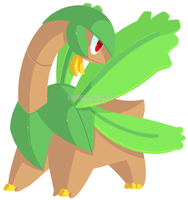 Request - Tropius by drill-tail