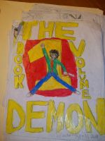 THE DEMON FRONT COVER BOOK 1 by VMANGA