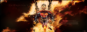 SuperMan Show Back Design By MidoVlan by Mido-Vlan