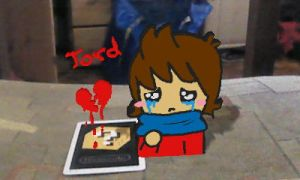 Tord crying on ma chair by Mig-Magoo