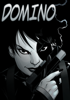Domino by dwaynebiddixart