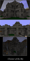 Minecraft Building: Cloister by ArchonofFate