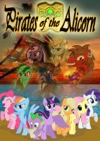 MLP - Pirates of the Alicorn: Poster by Inkheart7
