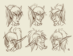 Larkley Expressions by Lucky-Atin