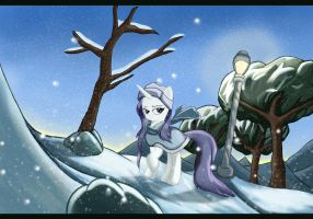Rarity in the Snow by Sceathlet