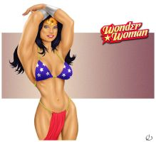 Cuddly Wonder Woman by yatz