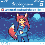 { Icon Commission } -- Loveemetoinfinitybabe by Hardrockangel
