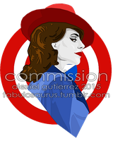 Commission - Agent Carter by Alexiel-VIII