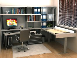 architect's work place by smartdrv