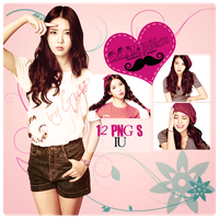Pack PNG IU by GAJMEditions