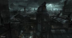 Thief - Greystone to Square Market vista by MatLatArt