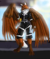 Winged Anthro by turnsky