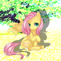 Fluttershy by shlebby
