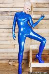 Blue Latex... by AgnaDevi