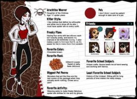 Arachtina Weaver wave two bio by ThestralWizard