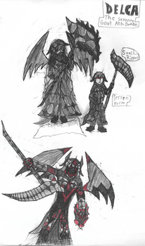 Delca, The Seventh Great Arch-Demon by Firestormthedragolf