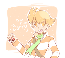 PKMN Rival Barry by azulila