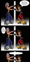 Let me out Sora comic by RoxasTsuna