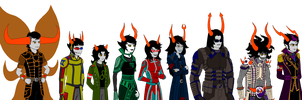 HS AU 'Or8' Talksprites Revamped Part 1: Canon by Warcry31