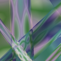 Green Purple Abstract by Variety-Stock