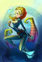 Underwater by Kira-Mayer