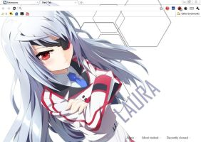Infinite Stratos - Laura by BlodVark