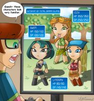 Total Drama JRPG by XJKenny