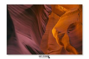 Lower Antelope Canyon IV by Bl4ck-and-wh1te