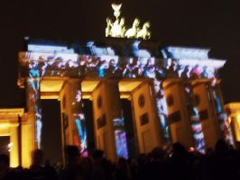 Festival of Lights - Fall of the wall by Individumm
