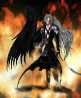 Final Fantasy 7 Sephiroth by fullmetalschoettle