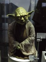 Star wars exhibition: Yoda by theneopetmaster