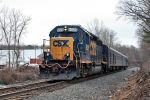 CSX 6025 on W-001 by cr6660