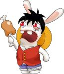 Luffy Rabbid by BlackKisa