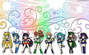 Whimsical Guardian Senshi by soapboxinggeek