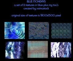 Blue Mondays by mimustock