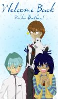 Welcome Back Kaiba Bros by mystylotus