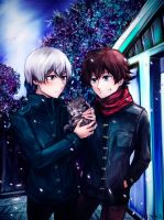 L-elf and Haruto (2) by Dessa-nya
