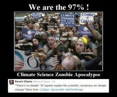 The Climate Science Zombie Apocalypse is Coming by Kajm