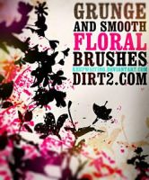 FLORAL PHOTOSHOP BRUSHES by brushpsd