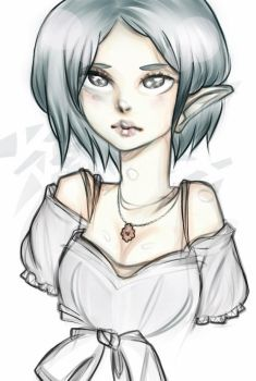 Elf Lady by puryu