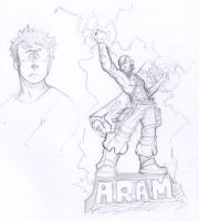 ARAM king, b*tches! by SketchesLikeaBoss