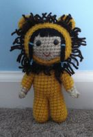 amigurumi lion cosplay by TheArtisansNook