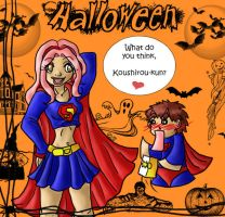 Digi: Halloween Supergirl by Miss-Mae