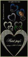 open hearts by priesteres-stock