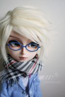 With new eyeglasses 03 by mydollshouse